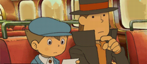 Professor Layton and the Lost Future (DS)