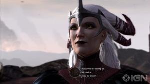Flemeth dukker opp i Dragon Age 2
