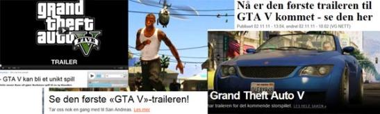 anmeldelser av GTA V