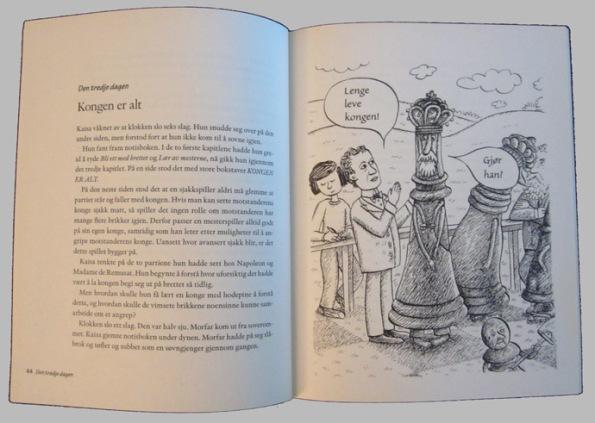 Kaisa og den magiske sjakkboken. Ganesa