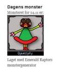 Dagens monster på Emerald Raptor